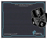 "Dragonwar Professional Large XXL Gaming Mouse Pad, Rubber Grip (17.91 x 14.57"")"