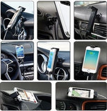 Sinjimoru Dashboard Center Fascia Car Mount for Samsung Galaxy S4, S3, LG G3, Motorola. Moto X, Droid Maxx