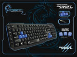 Dragonwar Wired Desert Eagle Advanced Gaming Keyboard
