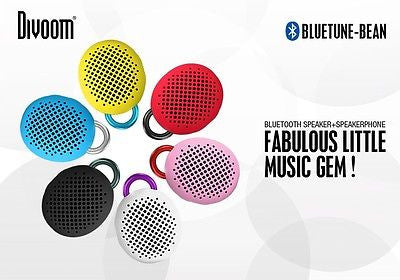 Divoom Bean Portable Wireless Bluetooth Speaker iPhone, Samsung Galaxy, LG, Smartphone, iPad and more