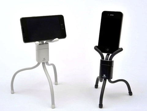 Cyanics i-3 Flexible Portable Stand for iPhone,  Samsung Galax, HTC, Motorola and other handheld devices
