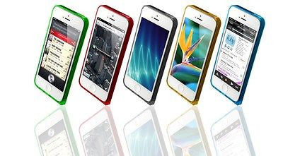Sinjimoru InLite Case Ultra Thin Bumper Case for iPhone 5S and iPhone 5