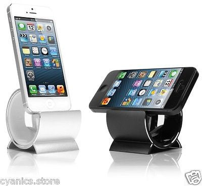 Sinjimoru Aluminum Sync Charging Stand Dock Cradle Lighting Cable for iPhone 6, 6 Plus, 5S, 5C, 5, 4S