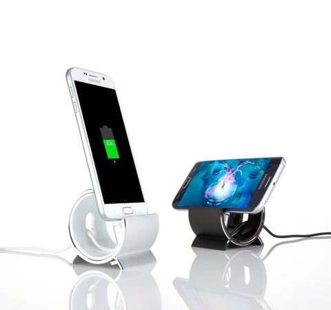 Sinjimoru Aluminum Sync Charge Dock Stand for Samsung Galaxy S6, S5, S4, S3