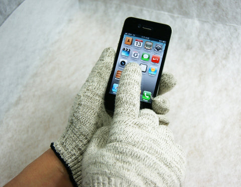 Wizgloves Texting, Work and Warehouse Gloves for iPhone, Samsung Galaxy, iPad, and other Smartphones and Tablet PC