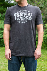 Brooklyn Photo Works T-Shirt (Charcoal Heather Grey)