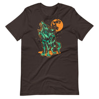 Shark Wolf Blood Moon Unisex T-Shirt