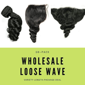 Brazilian Loose Wave Variety Length Package Deal