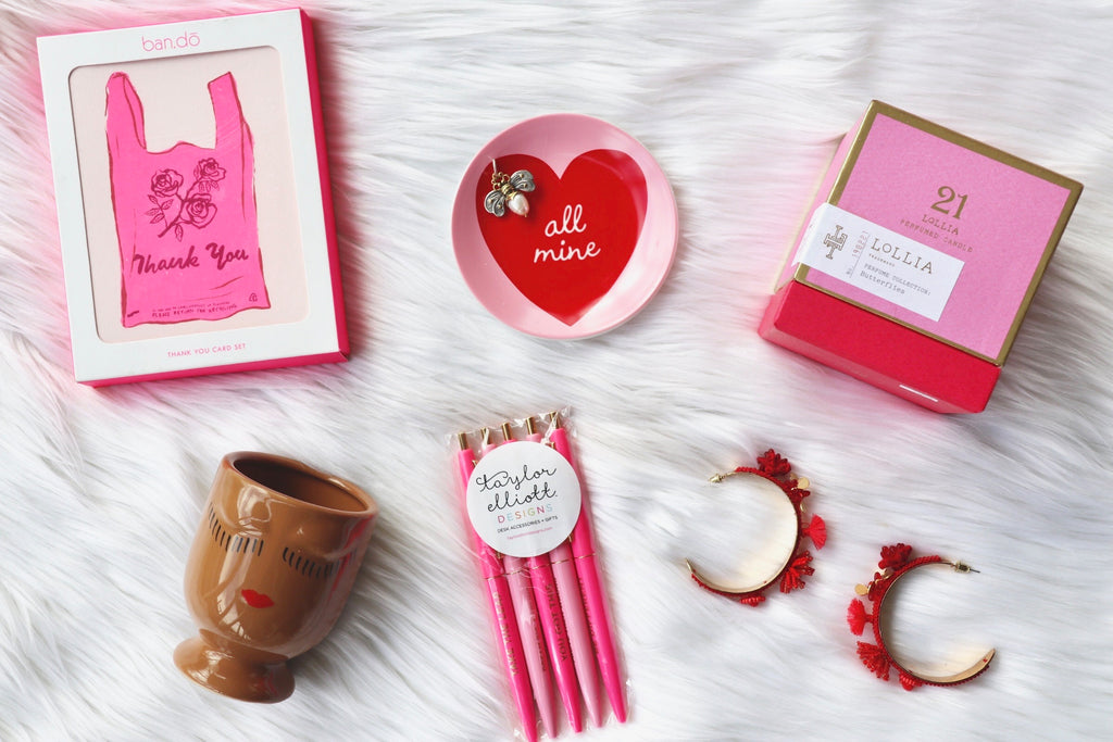 Love is in the air! Embrace the warm hues of the season and add some pops of pink and red into your life!