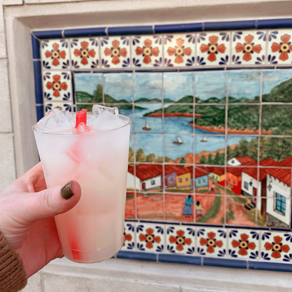 The Frida Lychee Margarita from El Artista Hambriento at Epcot's International Festival of the Arts 2019