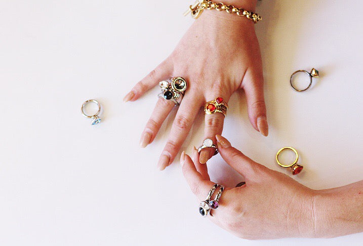 Qudo interchangeable jewelry at Coco and Duckie