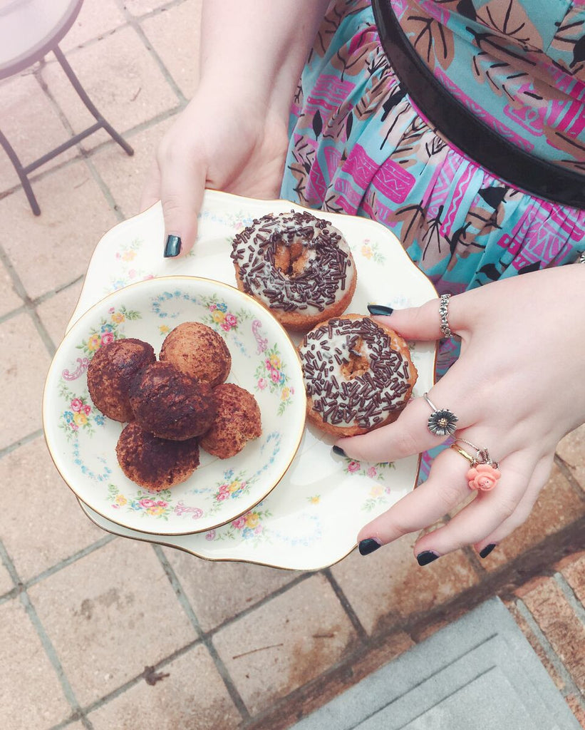 Coffee Coffee Doughnut Recipe from Coco and Duckie