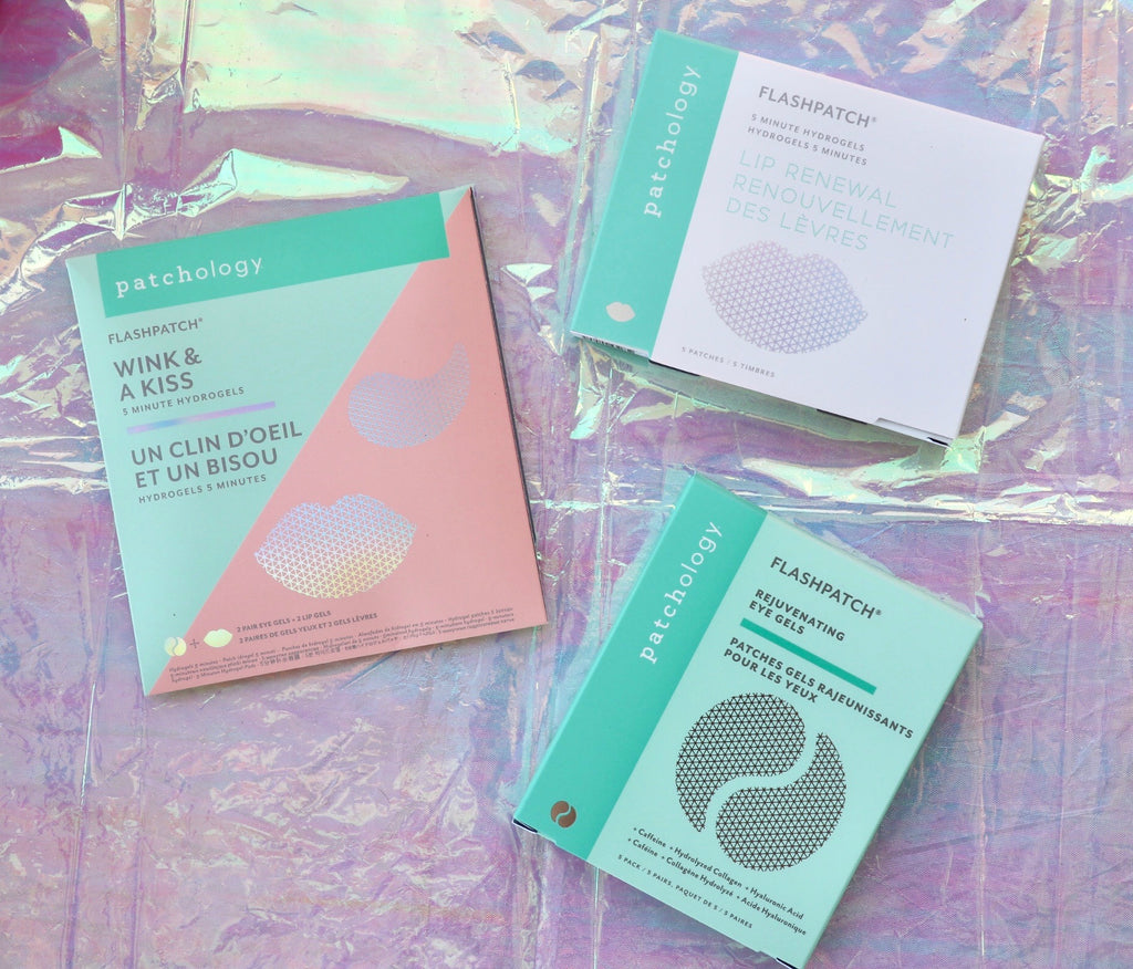 Flash patches are the perfect way to pack a big punch of moisture in a small amount of time! Check out our full selection of Patchology Products at Coco and Duckie
