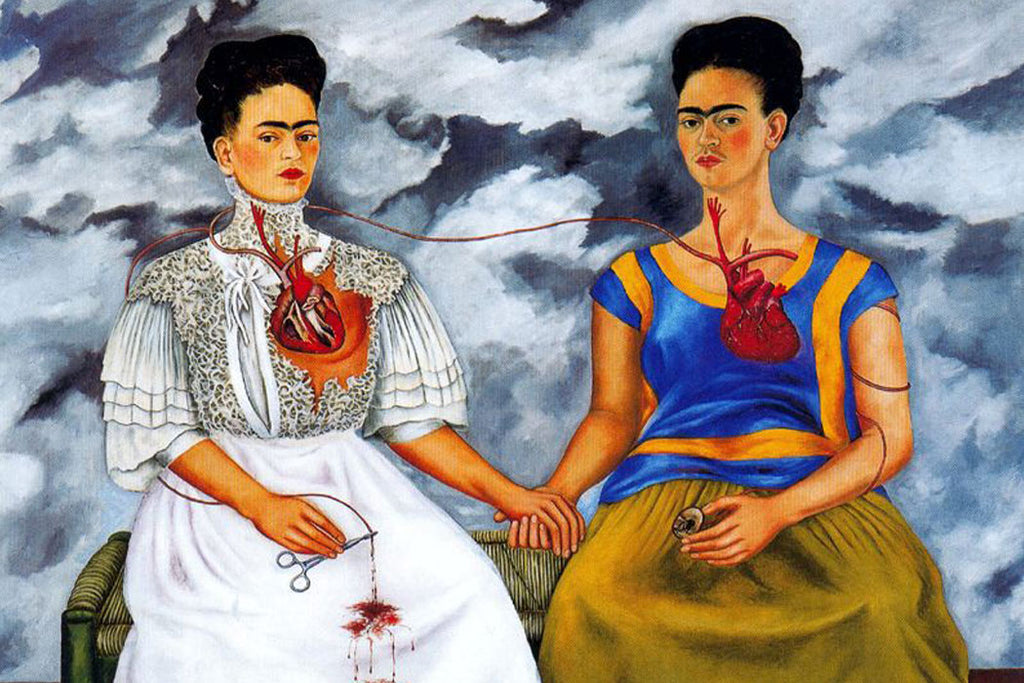 Two Frida's, Frida Kahlo.