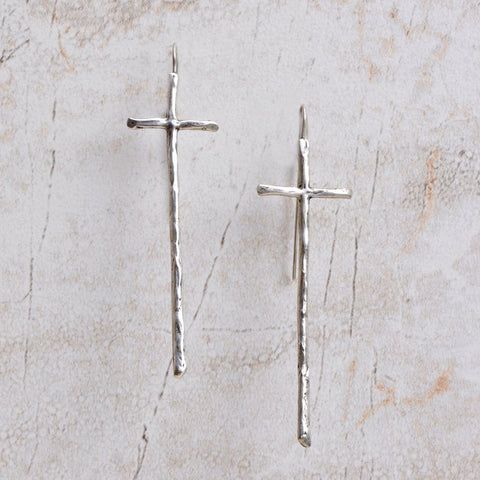 Shekinah Cross Earrings at Coco and Duckie