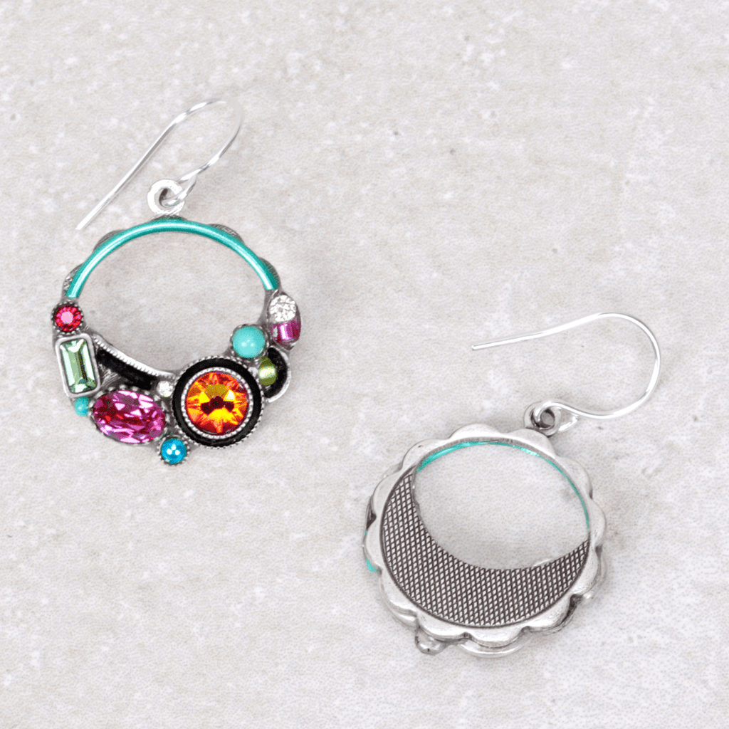 Firefly Calypso Hoop Earrings - Firefly - Coco and Duckie