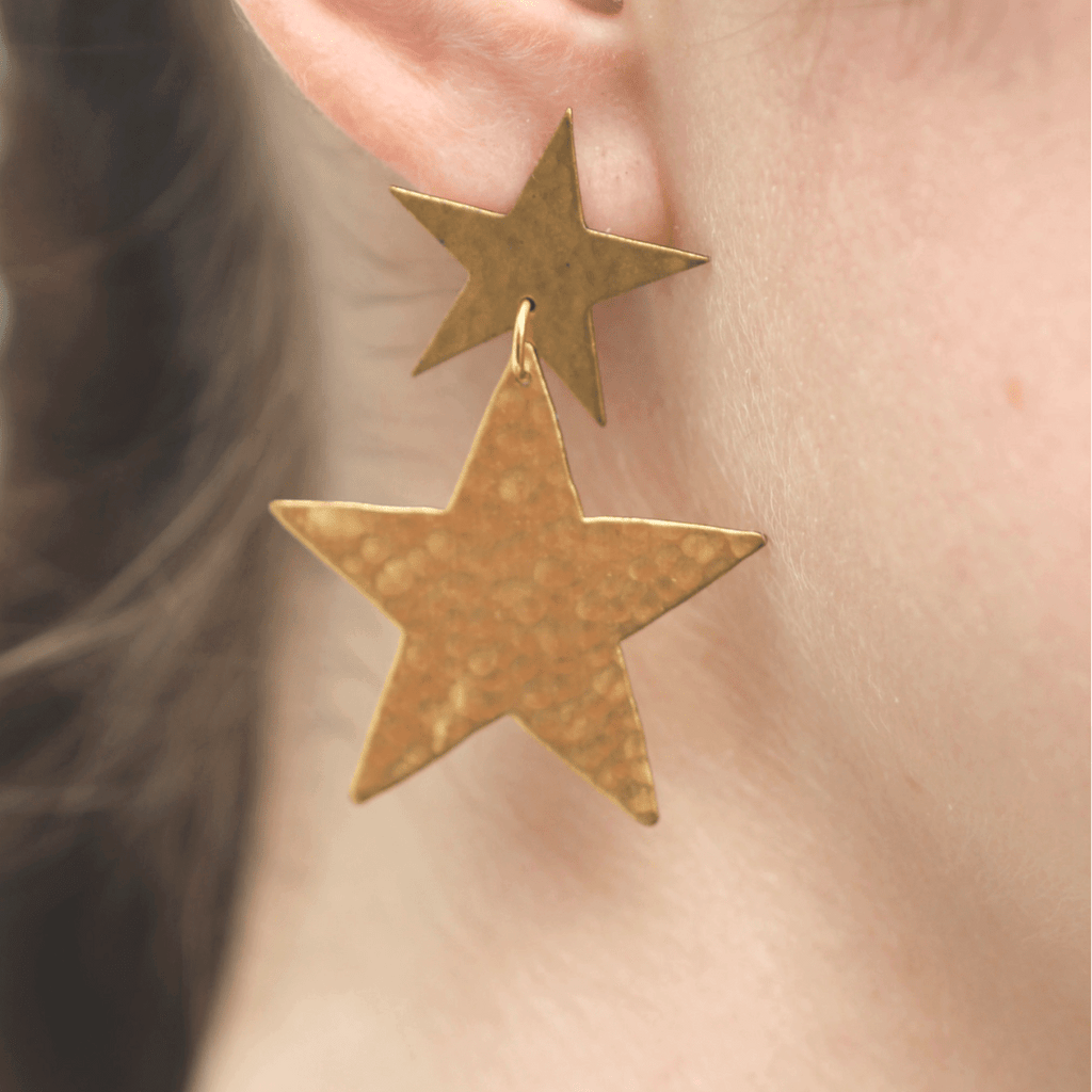 Shooting Star Earrings - We Dream In Colour - Coco and Duckie