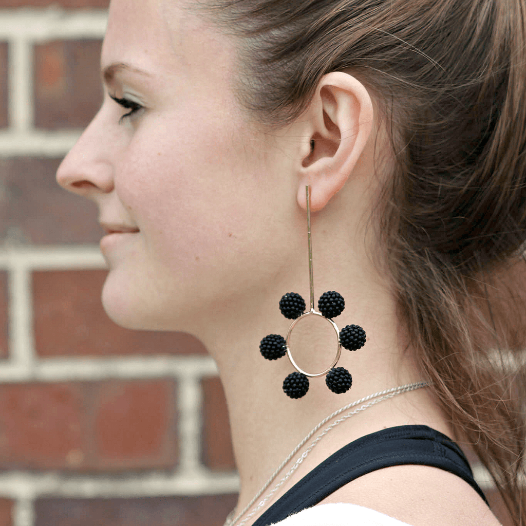 Cosmos Earrings - Mishky - Coco and Duckie