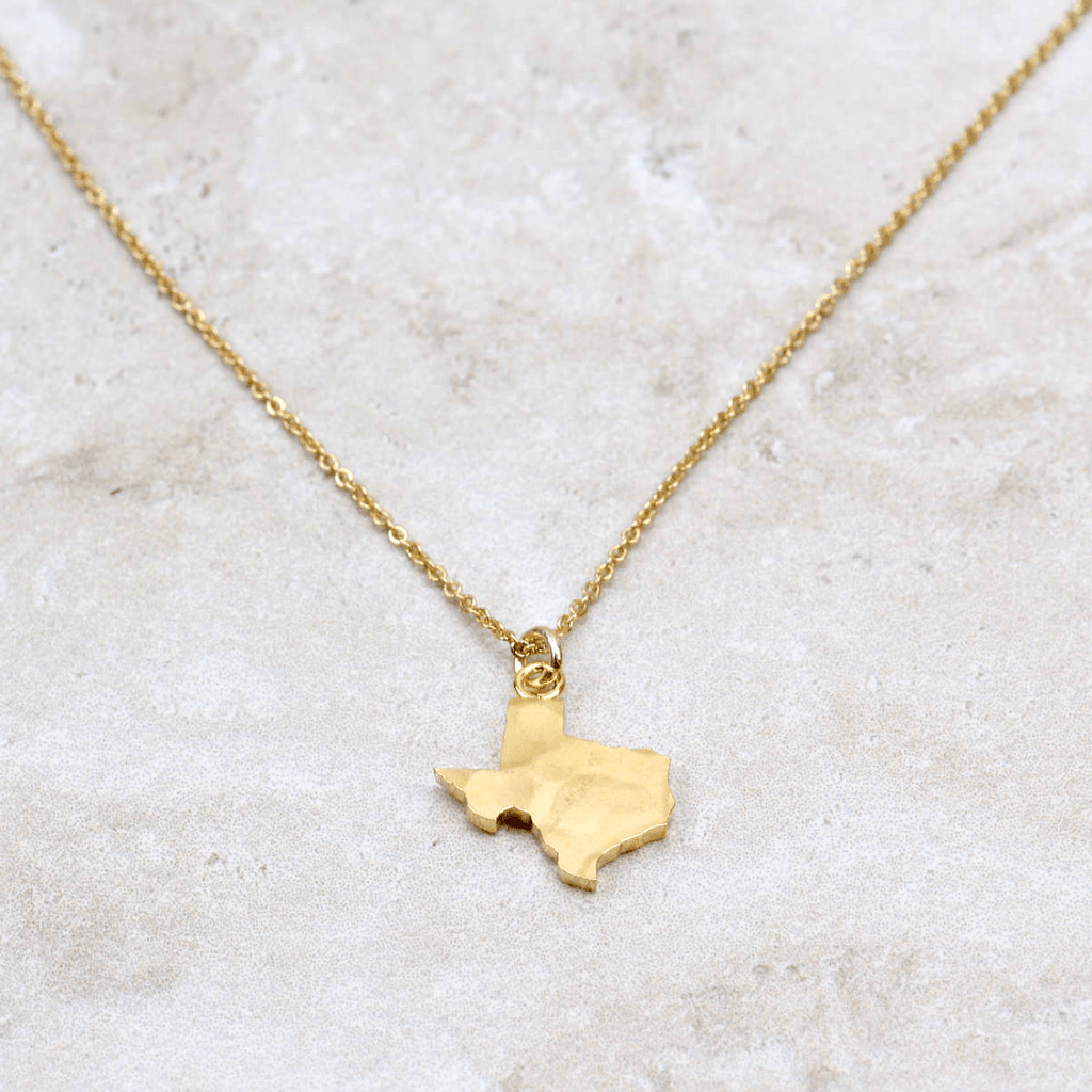 I Love Texas Necklace - Brenda Grands Designs - Coco and Duckie