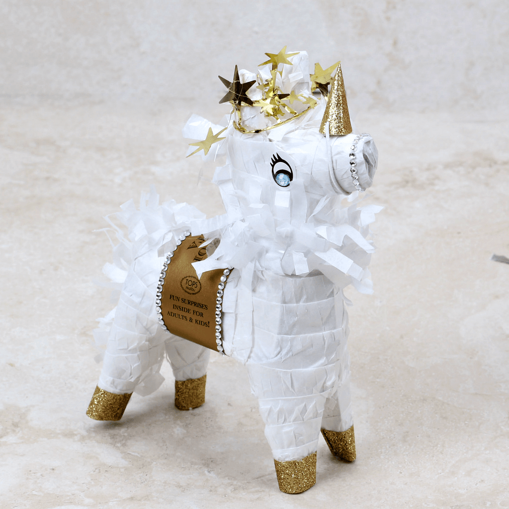 Mini Tabletop Unicorn Piñata - TOPS Malibu - Coco and Duckie