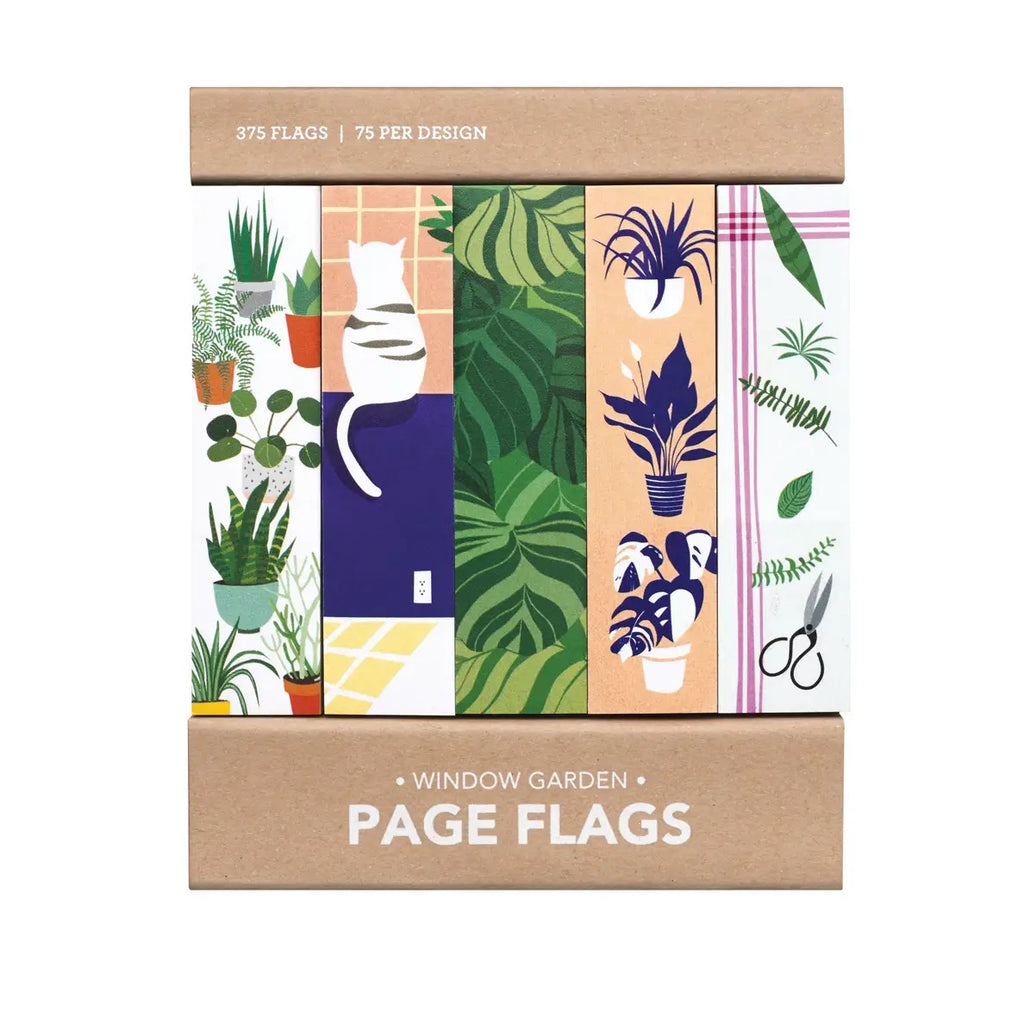 Window Garden Page Flags - Girl of All Work - Coco and Duckie