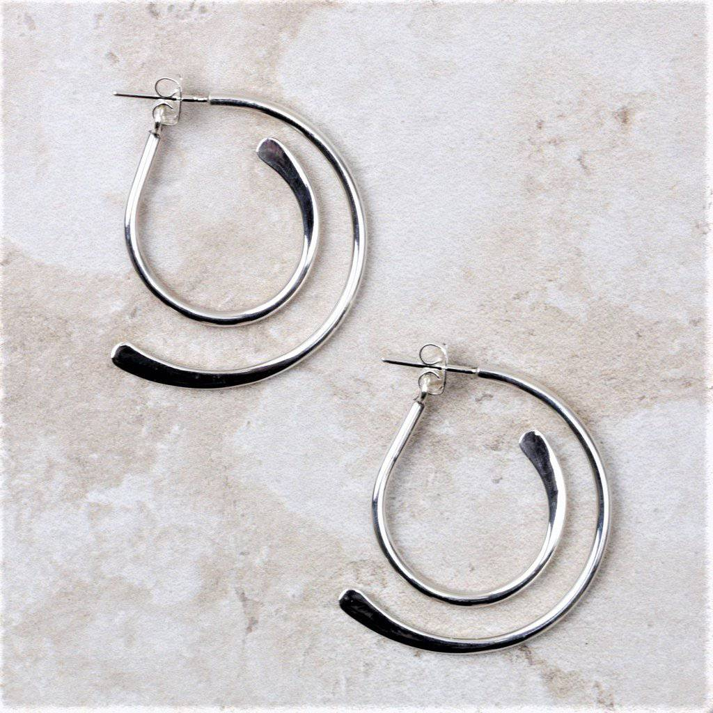 Lena | Sterling Silver Earrings - Taxco - Coco and Duckie