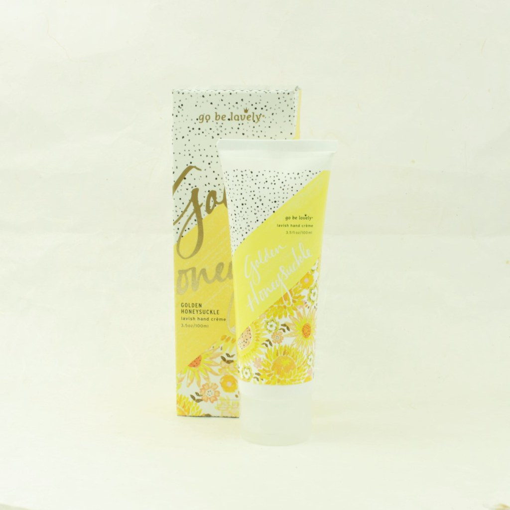 Golden Honeysuckle Lavish Hand Cream