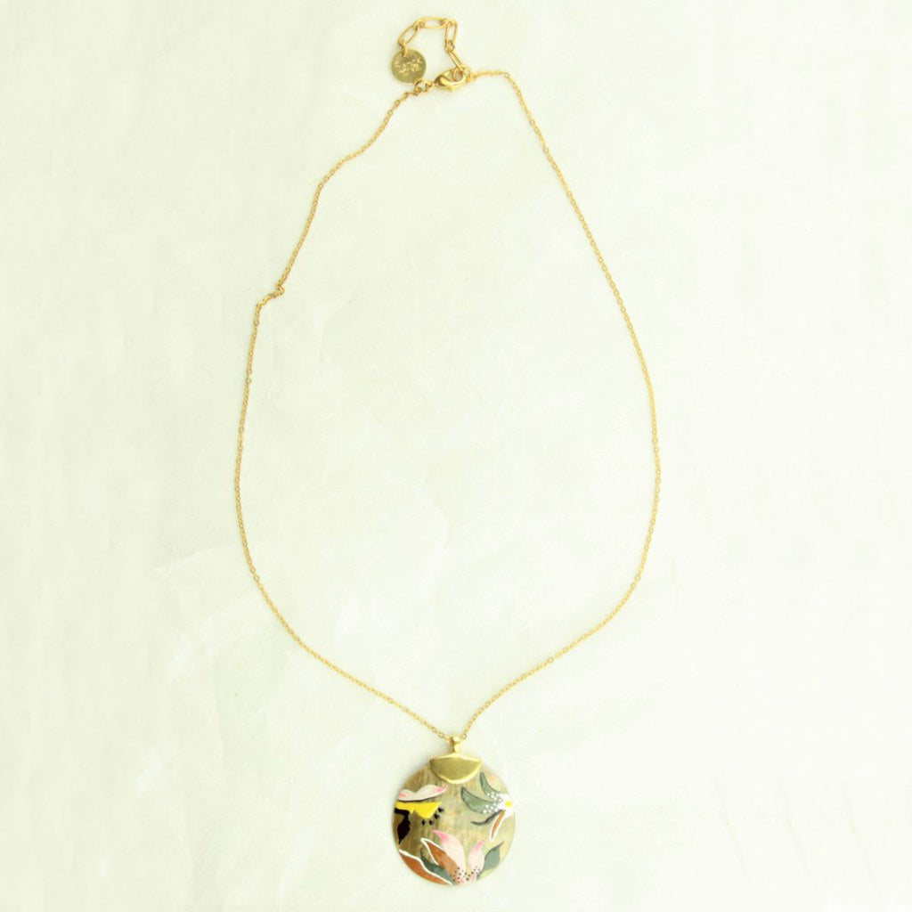 Franck Herval Laurette Round Necklace - Franck Herval - Coco and Duckie