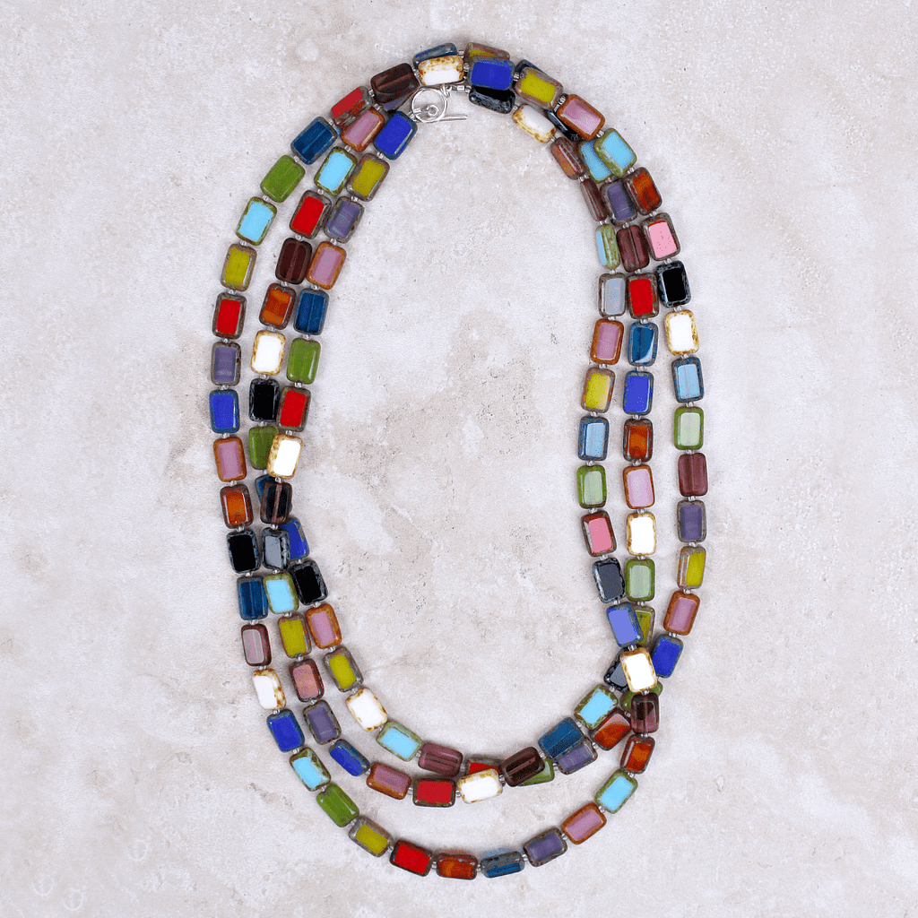 Althea Necklace | Rainbow - Stefanie Wolf Designs - Coco and Duckie