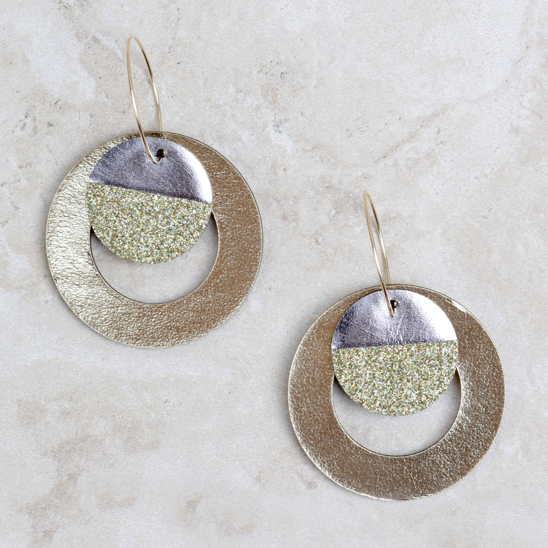 Hoop Earrings | Gold - Coco and Duckie