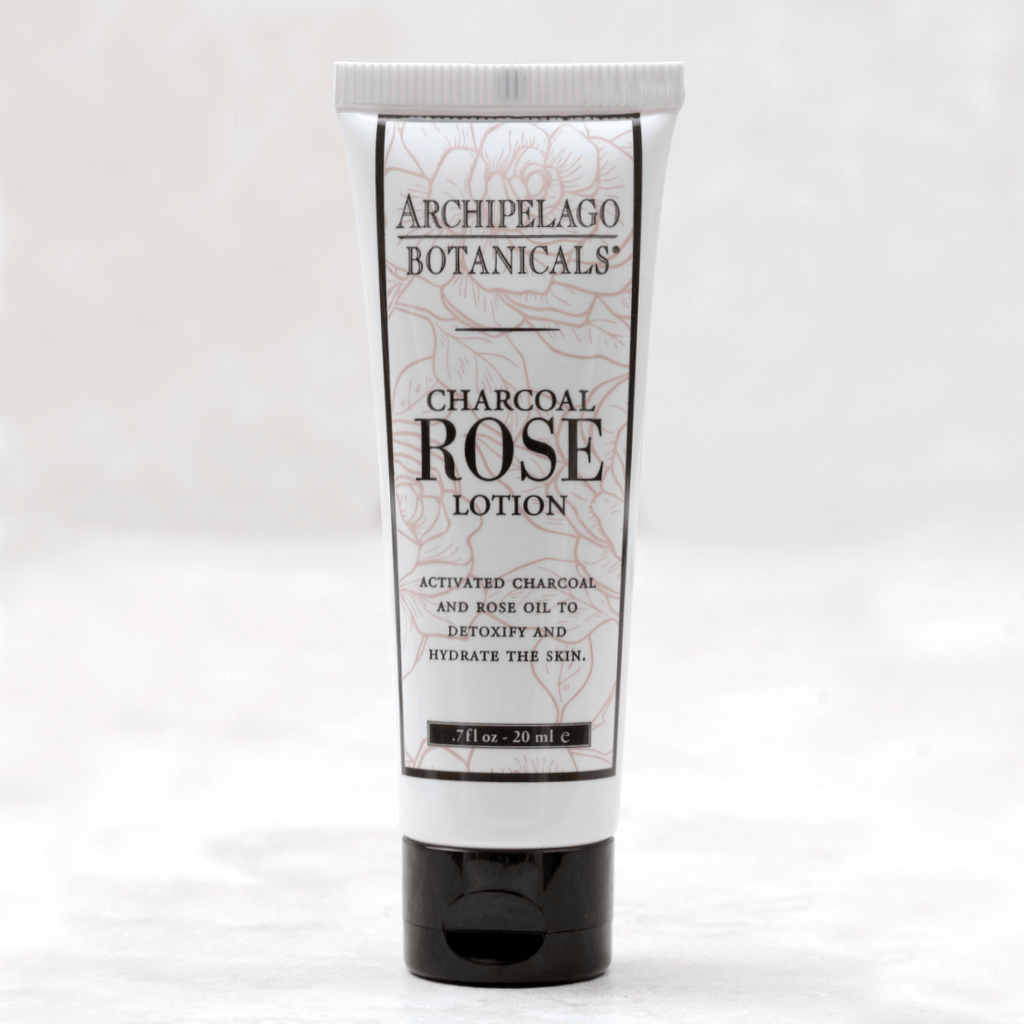 Charcoal Rose | Archipelago Travel Hand Lotion - Archipelago Botanicals - Coco and Duckie