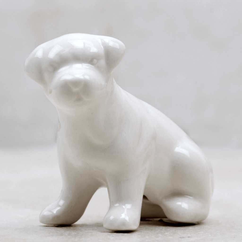 Ceramic Pooches - Creative Co-op - Coco and Duckie