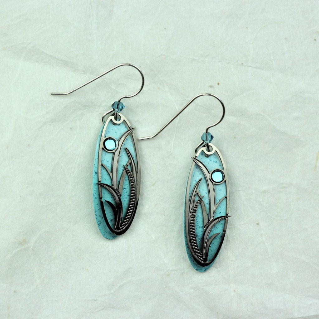 Sea Grass Earrings