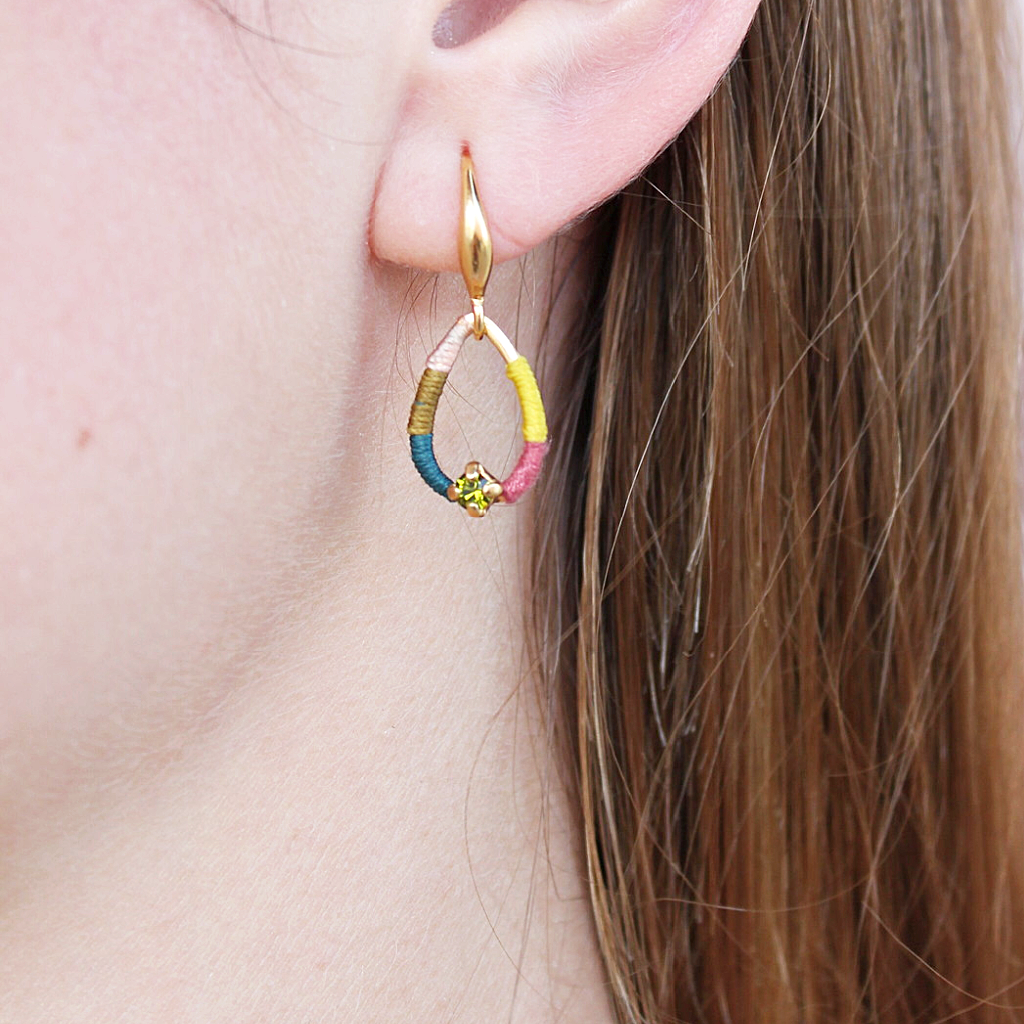 Franck Herval Melly Teardrop Earrings - Franck Herval - Coco and Duckie