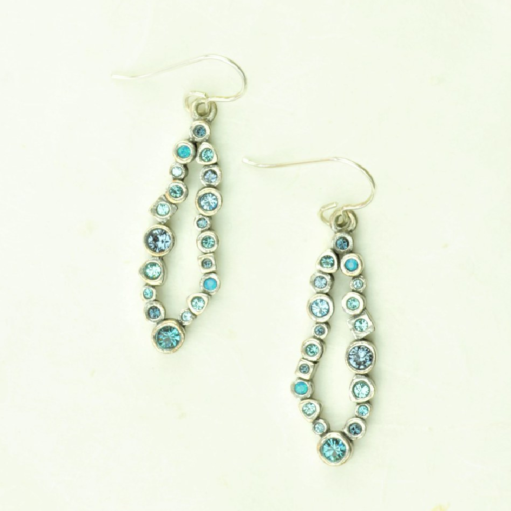 Beeline Earrings in Silver, Bermuda - Patricia Locke Jewelry - cocoandduckie.com