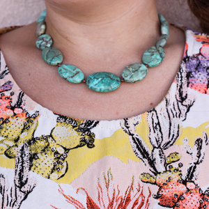 Dakota Turquoise Necklace - Dee;s Designs - Coco and Duckie