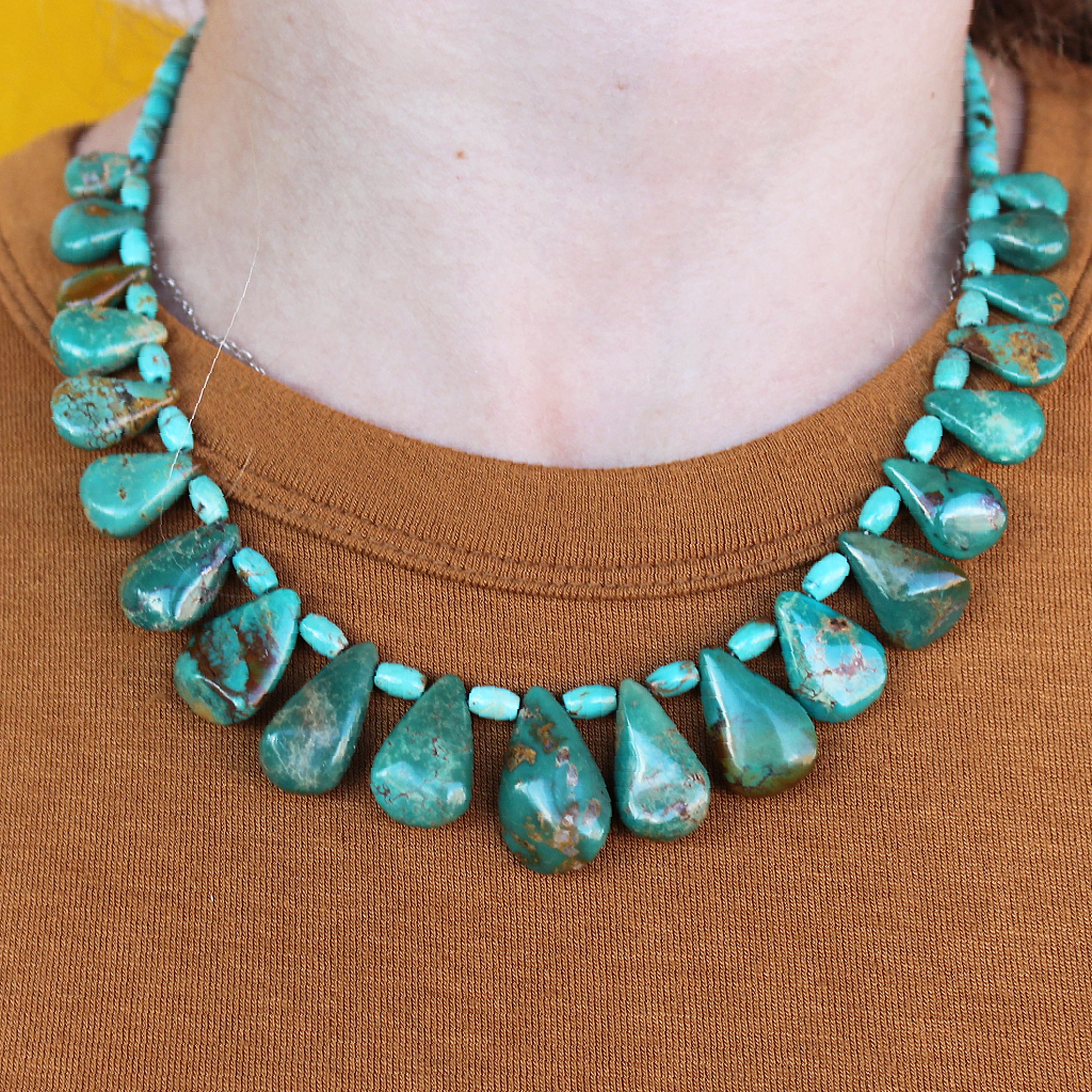 Tamara Turquoise Necklace - Dee's Designs - Coco and Duckie