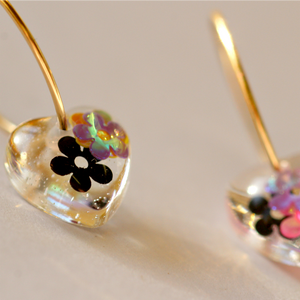 Venus Hoop Earrings | Flower Power - Coco and Duckie