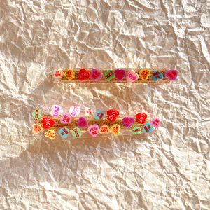 Conversation Hearts Coco Clip Set
