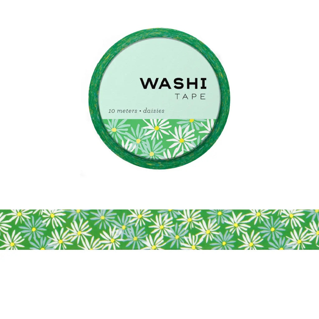 Daisies Washi Tape - Girl of All Work - Coco and Duckie