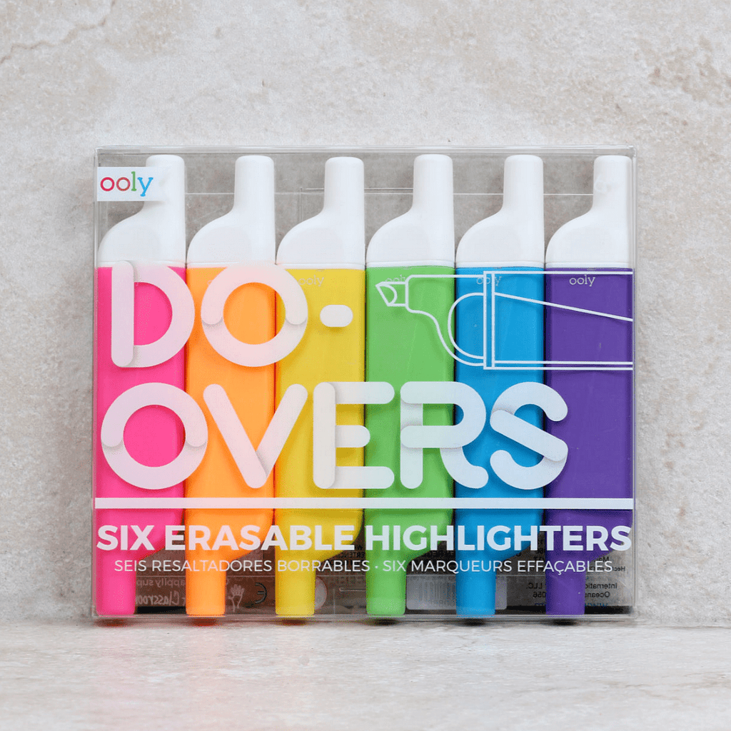 Do-Overs Erasable Highlighters - Ooly - Coco and Duckie