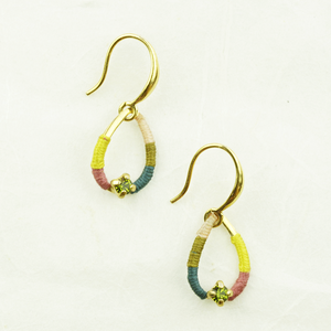 Franck Herval Melly Teardrop Earrings