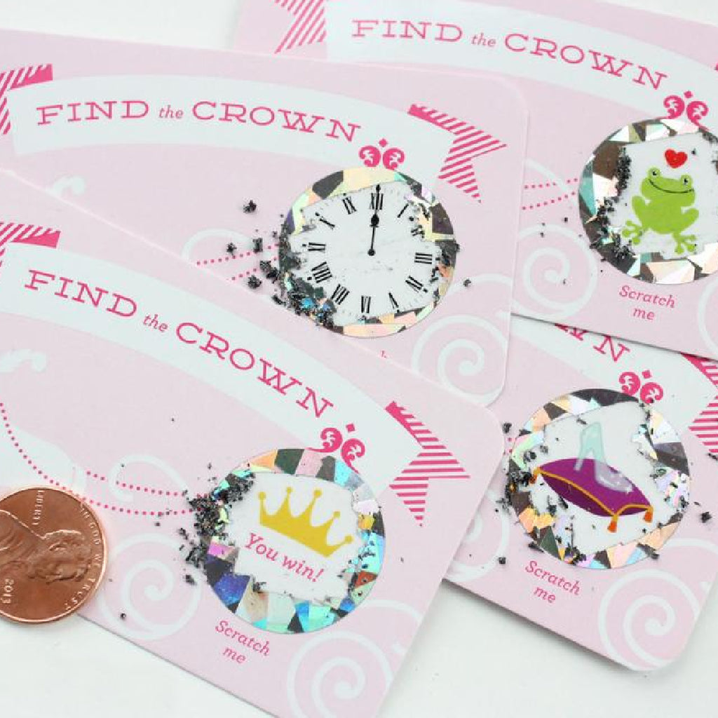 Find The Crown  Card Game - Inklings - Coco and Duckie