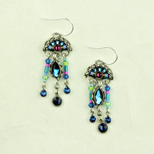 Firefly Bermuda Blue Earrings