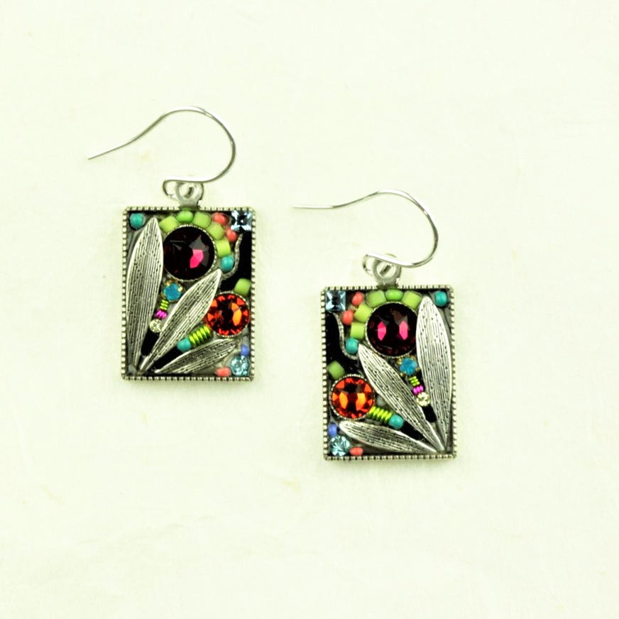 Firefly Luxe Leaf Earrings - Firefly - Coco and Duckie