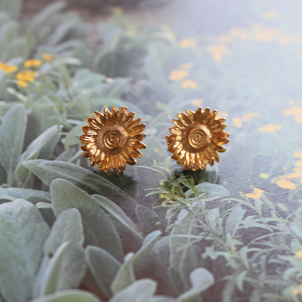 Franck Herval Felicie Sunflower Earrings - Franck Herval - Coco and Duckie