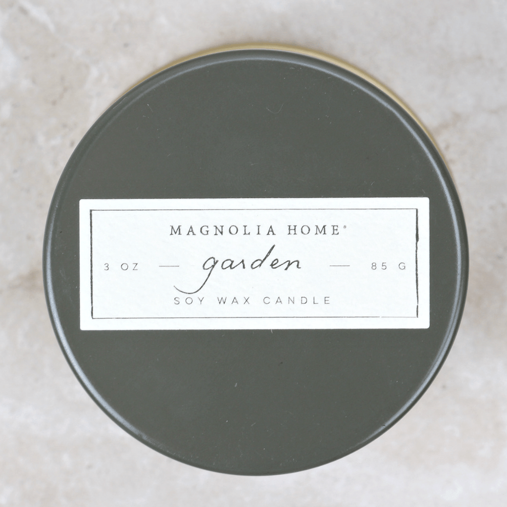 Demi Tin Candle | Garden - Magnolia Home - Coco and Duckie