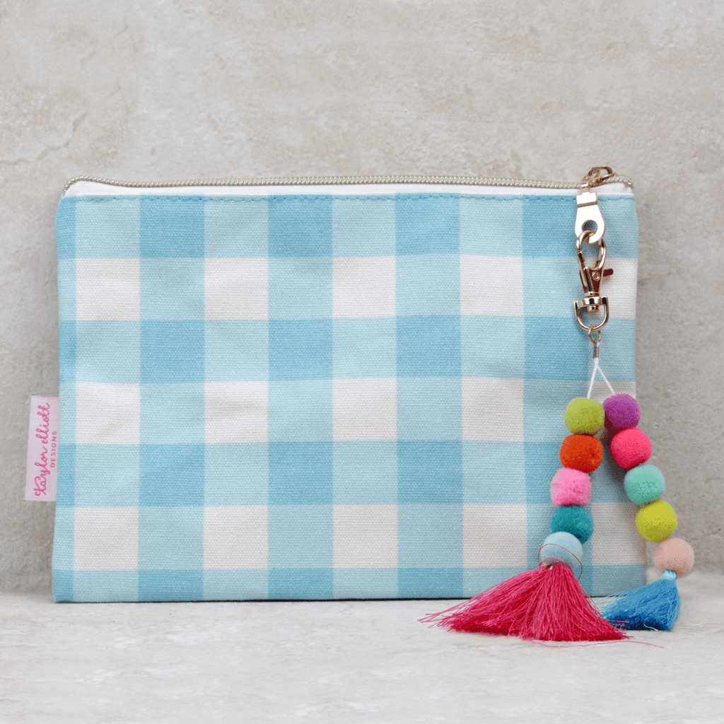 Dorothy Zippered Bag - Taylor Elliott Designs - Coco and Duckie