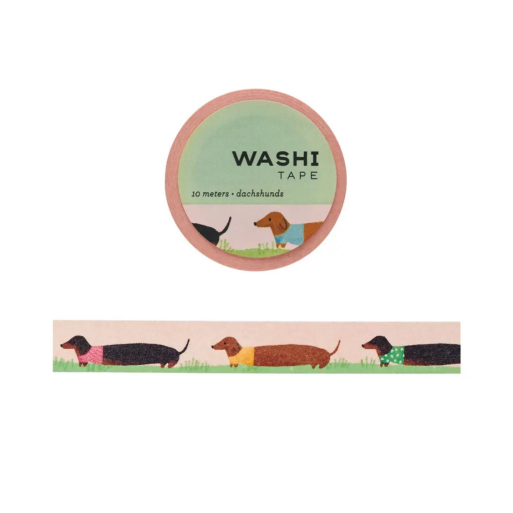 Dachshund Washi Tape - Girl of All Work - Coco and Duckie