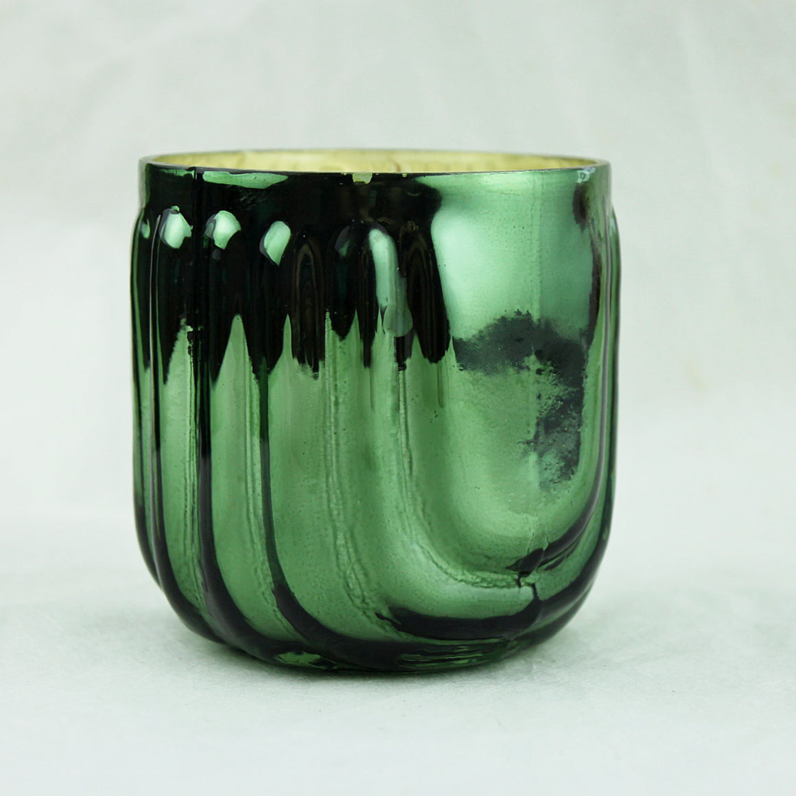 Ever Green Mercury Glass Candle